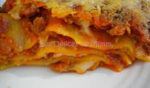 Lasagne bolognaise aux 4 fromages