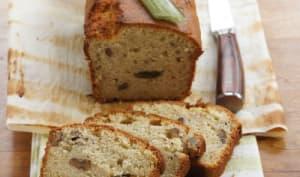 Cake macaron, angélique et noix