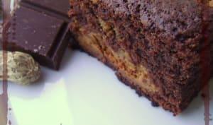 Brownie au chocolat et beurre de cacahuète