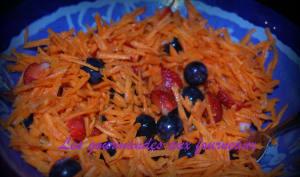 Salade de carottes aux fruits frais