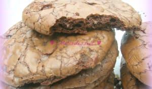 """Giant cookies-brownies aux pépites de chocolat et carambar """"original"""""""