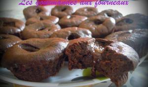 Bouchées au chocolat aucœur de carambar