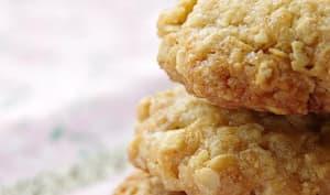 Biscuits flocons d'avoine/noix de coco au sucre de pomme