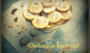 Duchesses au lemon curd