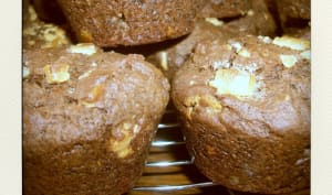 Muffins double choc'