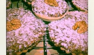 Tartelettes aux noix et chocolat au lait