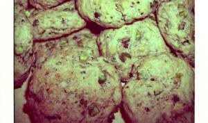 Cookies aux sardines et petits pois