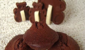 Madeleines chocolat et noix de coco