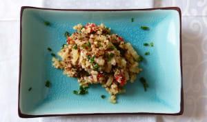 Quinoa pilaf aux blettes