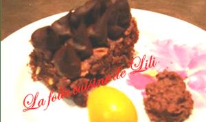 Brownies et mousse choco - orange