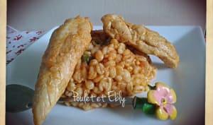 Poulet à l'Ebly au Cookéo