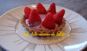 Tarte à la fraise et à la myrtille