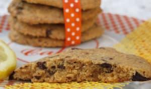 cookie au citron et au chocolat façon Laura Todd