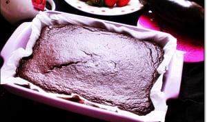 Fondant au chocolat à la purée d'aubergine