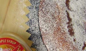 Moelleux au sirop d'érable, abricots et noisettes
