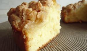 Gâteau aux pommes et streussel