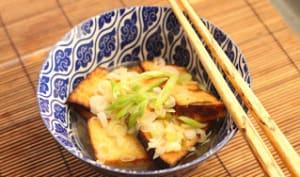 Tofu frit au Tonic