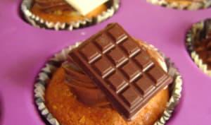 Cupcakes à la pâte à tartiner pétillante Kipety