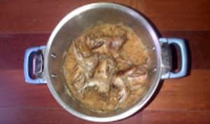 Choucroute chic, aux cèpes et au marsala, cailles braisées