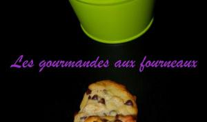 Cookies au citron et pépites de chocolat