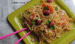 Salade de Crevettes Thaï, sans Crevettes
