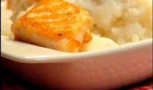 Risotto au saumon