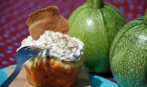Cupcakes à la Courgette et Citron Vert, Tuiles de Blé Noir