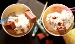 Crème glacée au KitKat®