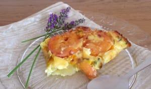 Clafoutis aux abricots et lavande