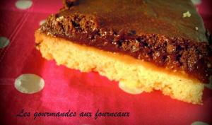 Mousse au chocolat sur sablé Breton et son caramel au beurre salé