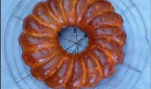 Cake au chorizo et au maïs