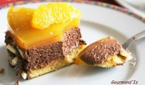 Miroir chocolat-orange