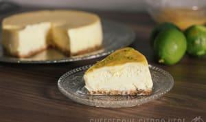 New York Cheesecake au citron vert