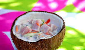 Salade tahitienne de poisson