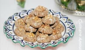 Ghriba aux dattes et graines de sésame