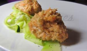Boulettes de saumon à l'avoine