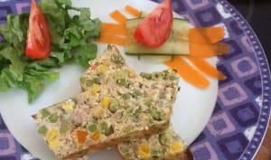 Terrine de thon aux petits légumes