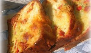 cake ibérique chorizo poivron