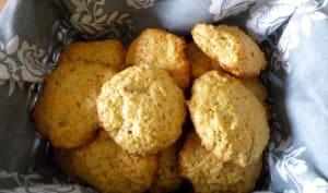 Cookies au thé et citron