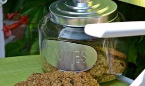 Cookies flocons d'avoine / chocolat / noix