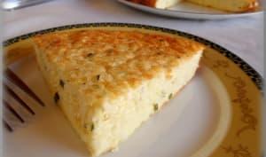 Gâteau au chou-fleur et parmesan