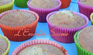Muffins Framboises et Pavot