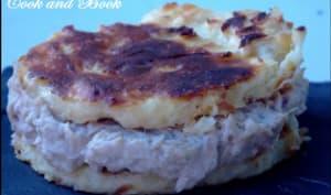 Sandwichs de galettes de pommes de terre au thon et à l'aïoli