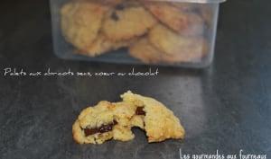 Palets aux abricots secs, cœur au chocolat