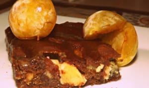 Brownies chocolat noir et blanc mirabelles