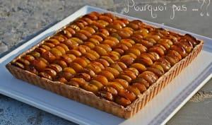 Tarte mirabelles, pâte brisée à l'huile d'olive