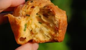 Muffins au Morbier et tomates séchées