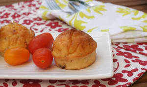 Muffins Lardons – Poivrons