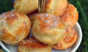 Chouquettes vanillées au sucre pomme ou lavande