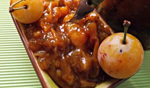 Chutney mirabelle épices cajun et curry